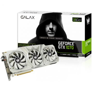 GALAX GeForce GTX 1070 HOF Limited Edition [GF PGTX1070/8GD5 HOF]  (VR READY)